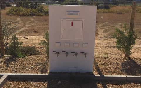 L'emplacement - Approvisionnement en eau et électricité
